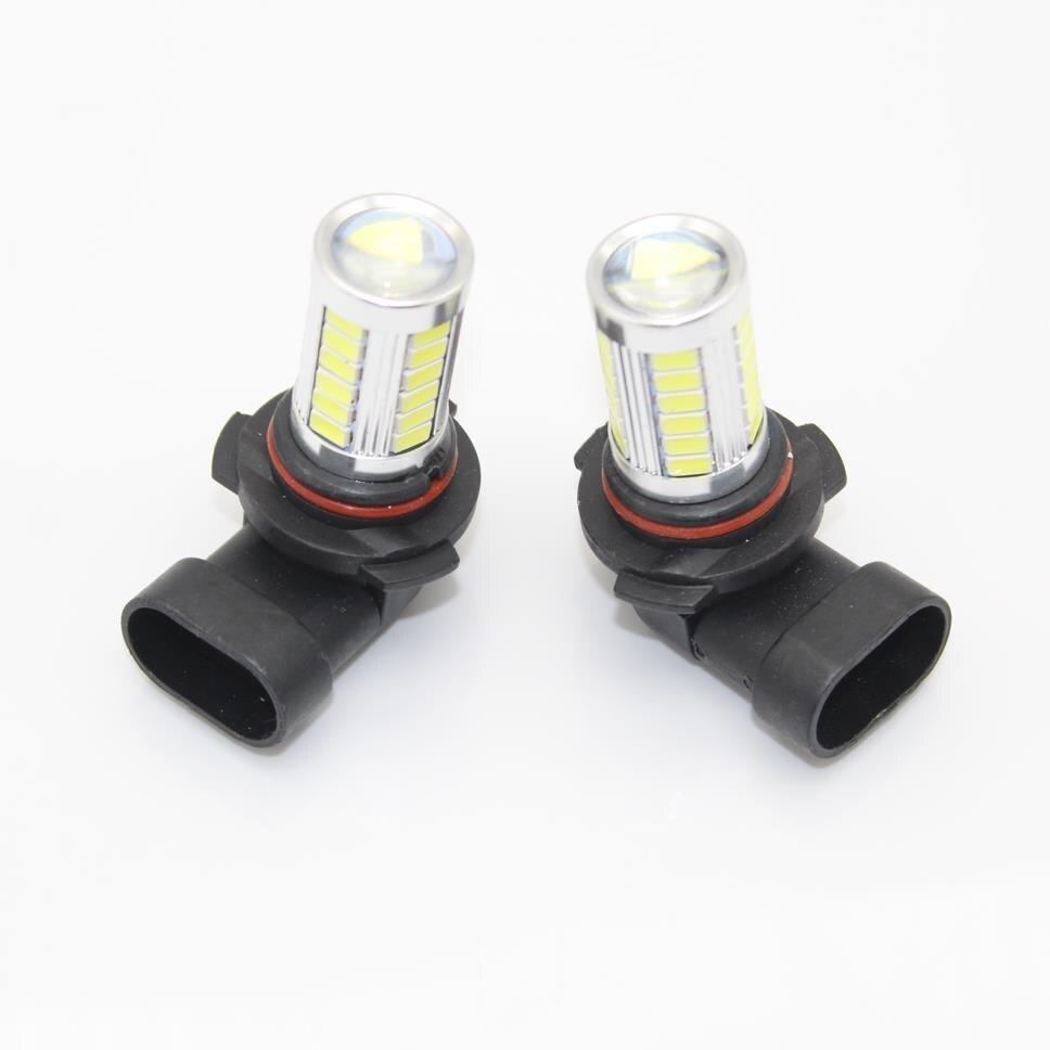 2pcs For Seat Leon 2006 2007 2008 2009 2010 2011 2012 2013 Car-Styling LED Fog Lamp Fog Light Bulbs
