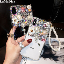 Luxury Bling Crystal Capa Cover Cases For Huawei