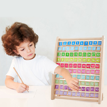 Kids Toys Montessori Wooden Toys Multiplication Table Baby Early Educational Toys Arithmetic Teaching Aids Math Toy For Children baby toys montessori wooden toys educational blocks baby early learning teaching set math toy shapes cognition birthday gift