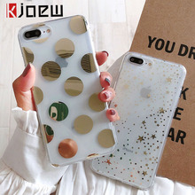 KJOEW Electroplated Polka Dots Star Phone Case For