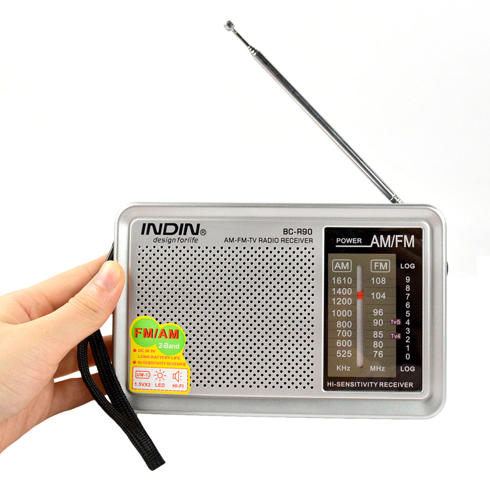 Taşınabilir AM FM radyo Retro Vintage dahili hoparlör cebi çok amaçlı dünya alıcısı R90 yaşlılar için yüksek kaliteli radyo yeni