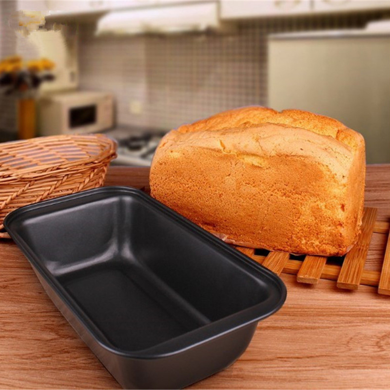 Carbon Steel Non-stick Bakeware Toast Bread Mold Loaf Pan Snow Toast Cheese Box Baking Roast Brownie Baking Pan Pastry Tools image