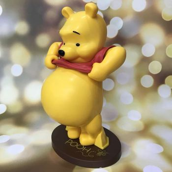 цена на Disney Winnie the Pooh 22cm Action Figure Anime Decoration Collection Figurine Toy model for children gift with box