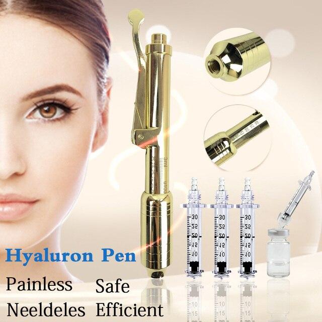 0.3/0,5 ml Ampulle Kopf verwendung mit Hyaluronsäure lip füllstoff hyaluron stift Anti Falten Lip Heben hyaluron stift zubehör