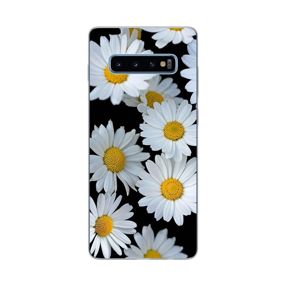 Flamingos Flower Rose Soft Silicone Case For Samsung Galaxy S7 Edge S8 S9 S10 S20 Plus S10E S105G S20 Ultra Cover Funda