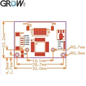 Image 5 - Недорогой модуль датчика отпечатка пальца GROW R304, Сканер контроля доступа с бесплатным SDK