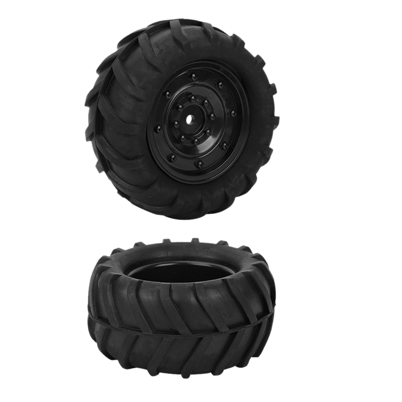 1:16 <font><b>RC</b></font> <font><b>Rally</b></font> Car Tires Rubber Tires <font><b>Wheel</b></font> Rims <font><b>RC</b></font> Racing Off-Road Refit Accessories Closed Hole image
