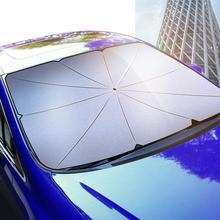 Universal Auto Sonnenschutz Sonnencreme Wärmedämmung Front Fenster Windschutzscheibe Fahrzeug Sonnenblende Auto Zubehör