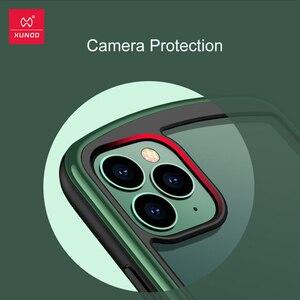 Image 3 - Xundd 보호 케이스 iPhone 11 Pro Max Shookproof 투명 범퍼 매트 케이스 에어백 통기성 벤트 게임 케이스 포함