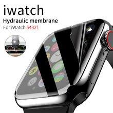 Закаленное прозрачное Защитное стекло для apple watch series