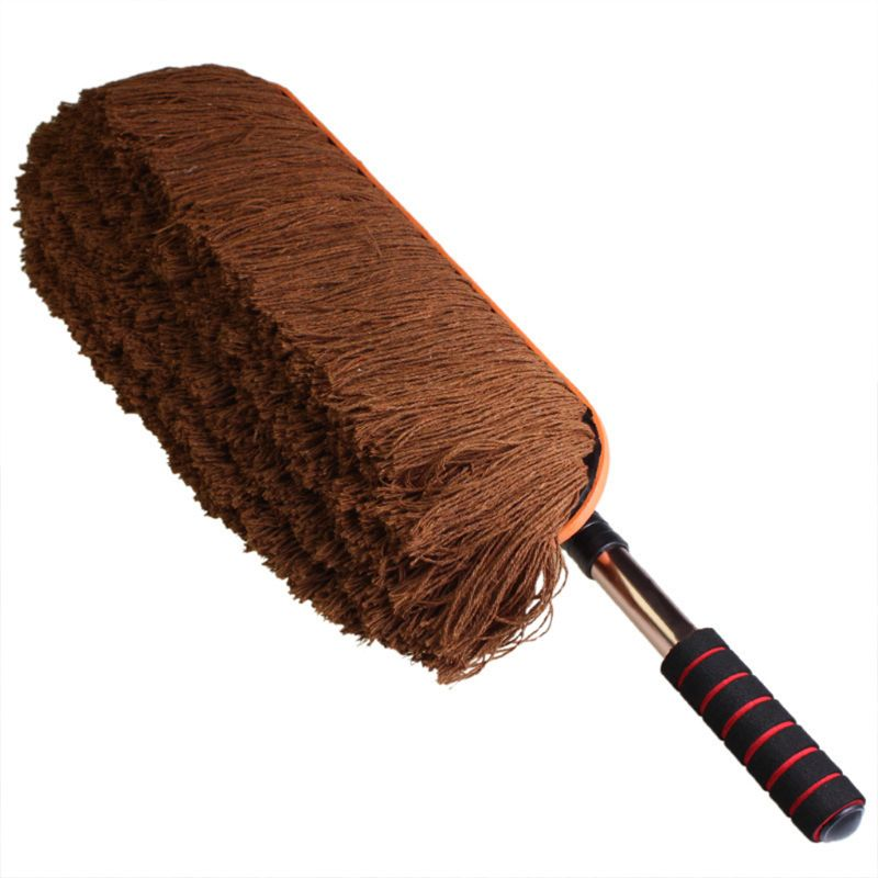 Car Retractable Cotton Wax Brush Car Wash Car Tweezers Dusting Brush Cleaning Mop Cleaning Supplies|Car Washer|Automobiles & Motorcycles - title=
