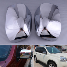 DWCX ABS Chrome Rearview Side Door Mirrors Cover Trim Protector Fit For Nissan X-Trail 2008 2009 2010 2011 2012 стоимость