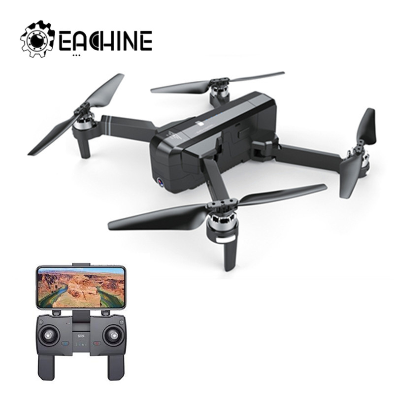 SJRC F11 GPS 5G Wifi FPV With 1080P Camera 25mins Flight Time Brushless Foldable Arm Selfie RC Drone Quadcopter|RC Helicopters| |  - title=