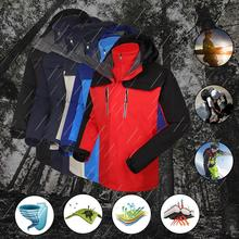 цена на Men Winter Hooded Softshell Windproof Waterproof Soft Coat Shell Jacket Outdoor Camping Hiking  Jackets Autumn Coat