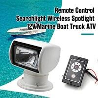 Boat Remote Spotlight Searchlight 12V 100W Bulb For Marine Yacht Speedboat Etc 360 Degree Xenon Lighting Boat Accessories Marine