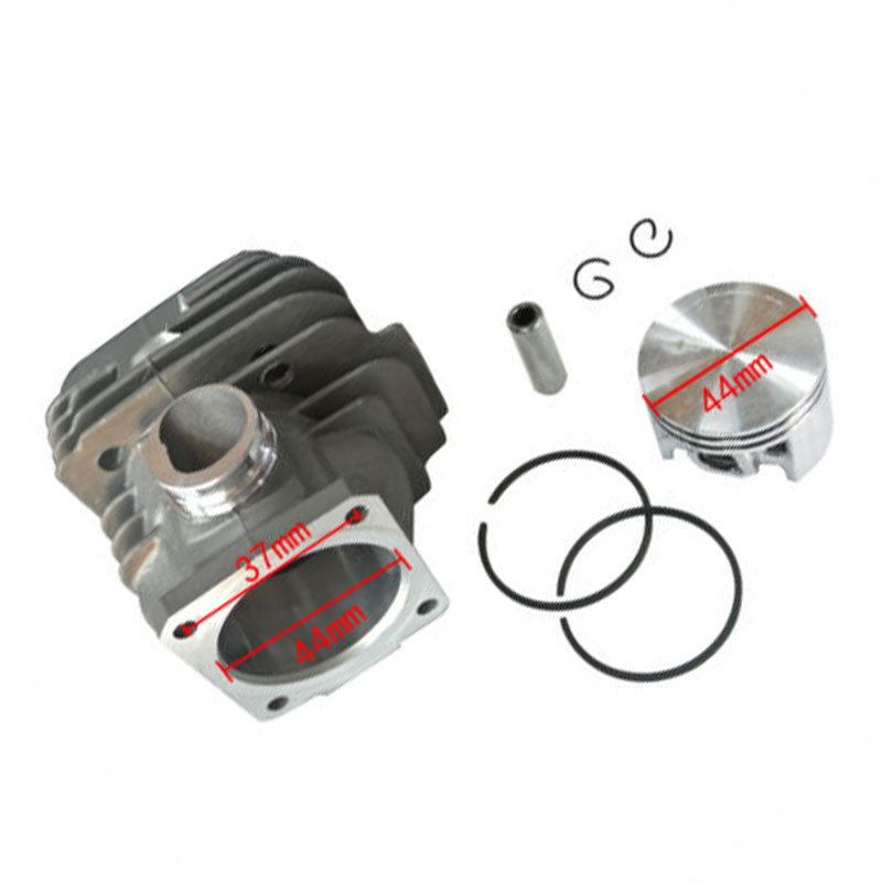 Cylinder /& Piston Part 44mm For Stihl 026 MS260 Chainsaw NIKASIL Plated Accs Hot