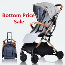 Wózek dziecięcy wózek dziecięcy składany wózek dziecięcy 2 w 1 wózek dziecięcy oryginalny wózek spacerowy lekki wózek spacerowy tanie tanio tianrui Numer certyfikatu 25 kg 0-3 M 4-6 M 7-9 M 10-12 M 13-18 M 19-24 M 2-3Y 0-3 years old eas23