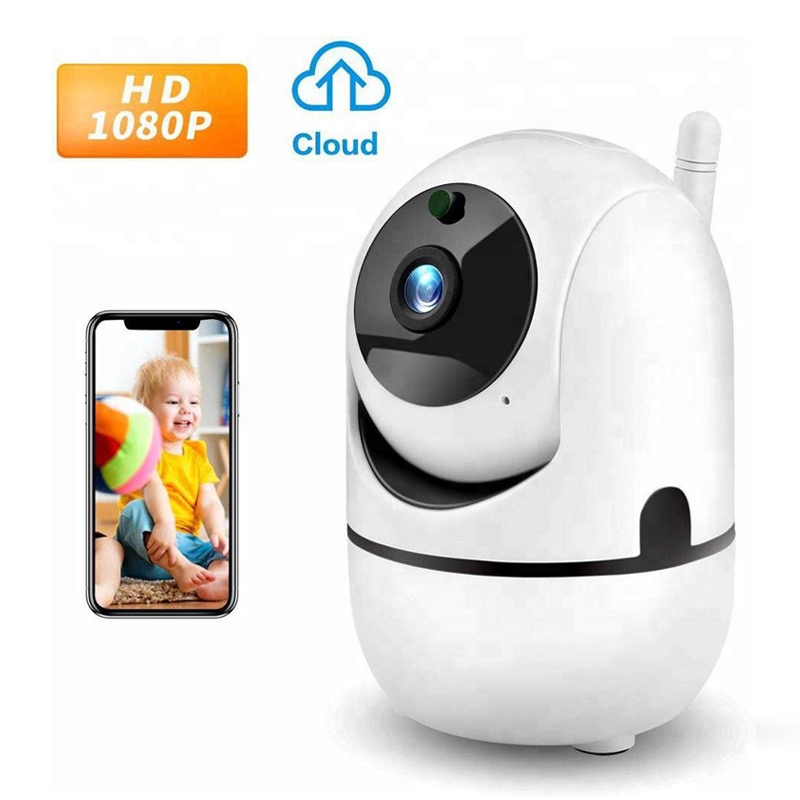 Best Seller 1080P HD IP Camera Auto Tracking AI Cloud Storage Wireless Wifi Camera image