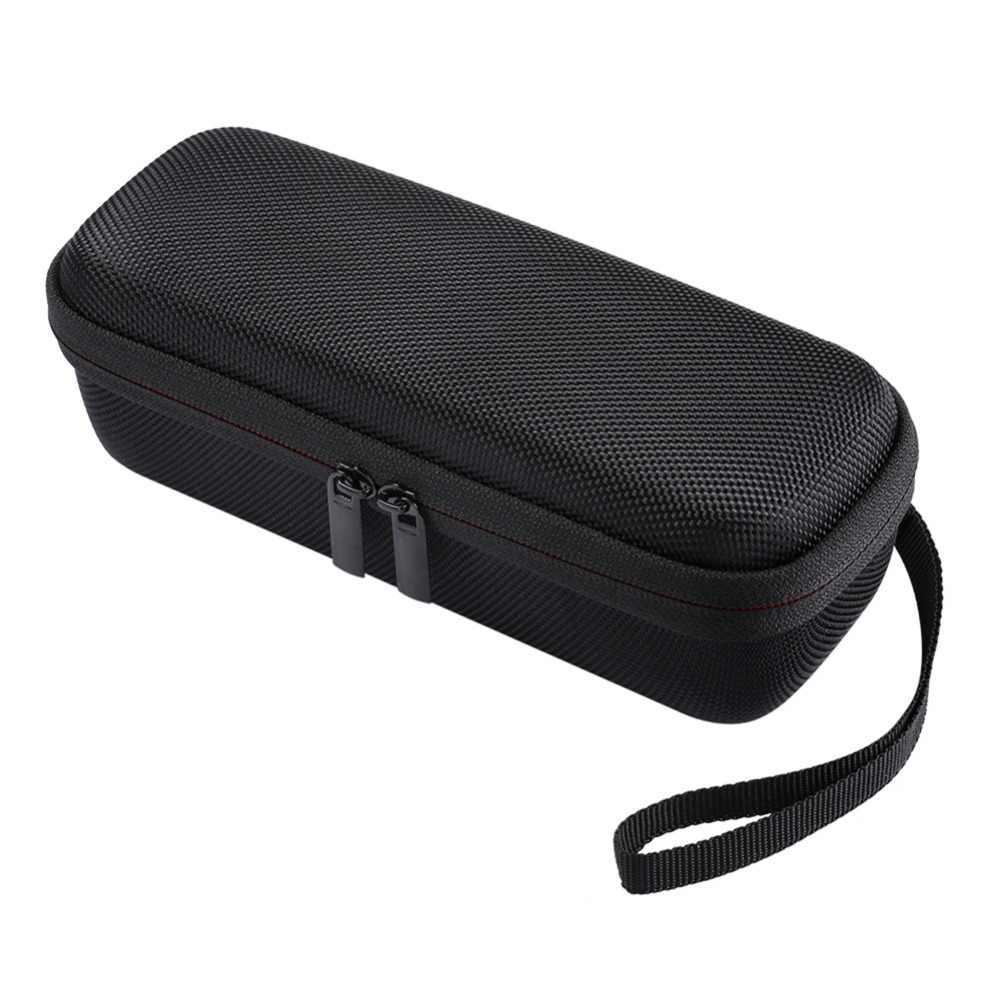 Neue Tragbare Drahtlose Bluetooth EVA Lautsprecher Fall Mit Mesh Dual Tasche Audio Kabel Durchführung Reisetasche Für Anker SoundCore 2