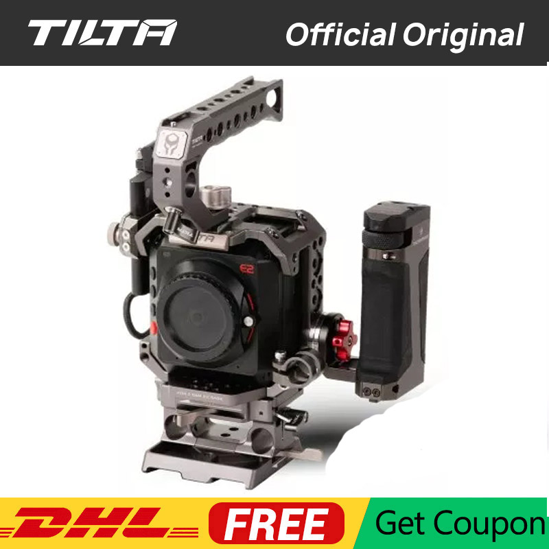 Tiltaing Z CAM Kit A B C for Z Cam E2 S6 F6 F8 Camera cage with Side Focus Handle Tilta Accessiroes vs SmallRig-in Camera Cage from Consumer Electronics    1