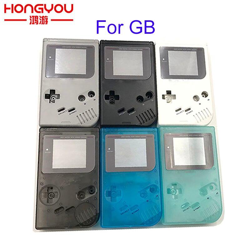 Высококачественный классический корпус, запасные части для игровой консоли Gameboy GB для GBO DMG с кнопками, шуруповерты