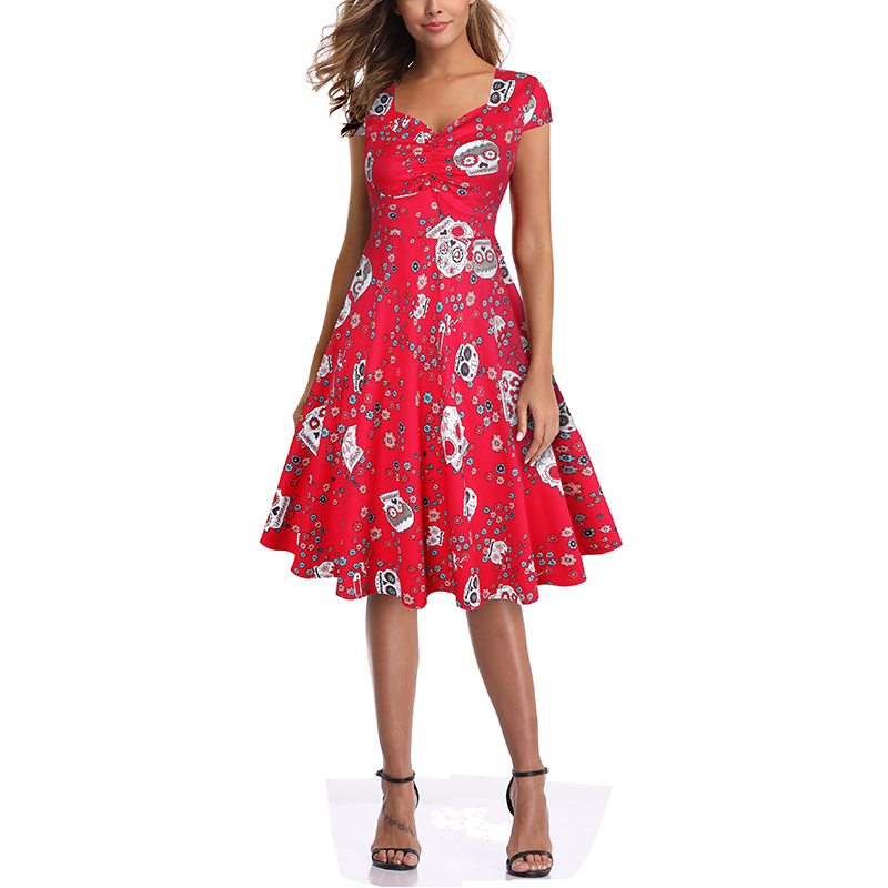 Astounding Halloween Dress 5 Colors 1
