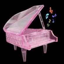 3d пазл для пианино с кристаллами украшение дома интеллектуальная