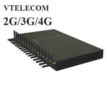 New 4G LTE VOIP Gateway With 32ports 128 Sims GSM/ WCDMA LTE VOIP SIP Gateway 2G/3G/4G 128 Sims IP Gateway