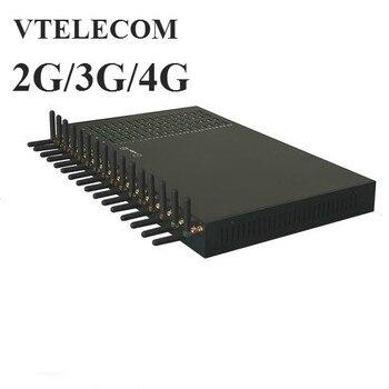 Brand new New Original 2G/3G/4G 32 ports 128 sims VOIP gateway 32 Channels 128 sims asterisk,elastix gateway фото