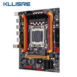 Image 3 - Nuova scheda madre Kllisre X79 chip SATA3 PCI E NVME M.2 SSD supporto memoria REG ECC