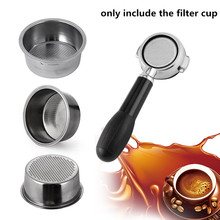 SEAAN Coffee Filter Cup 51mm Non Pressurized Basket For Breville Delonghi Krups Product Kitchen Accessories