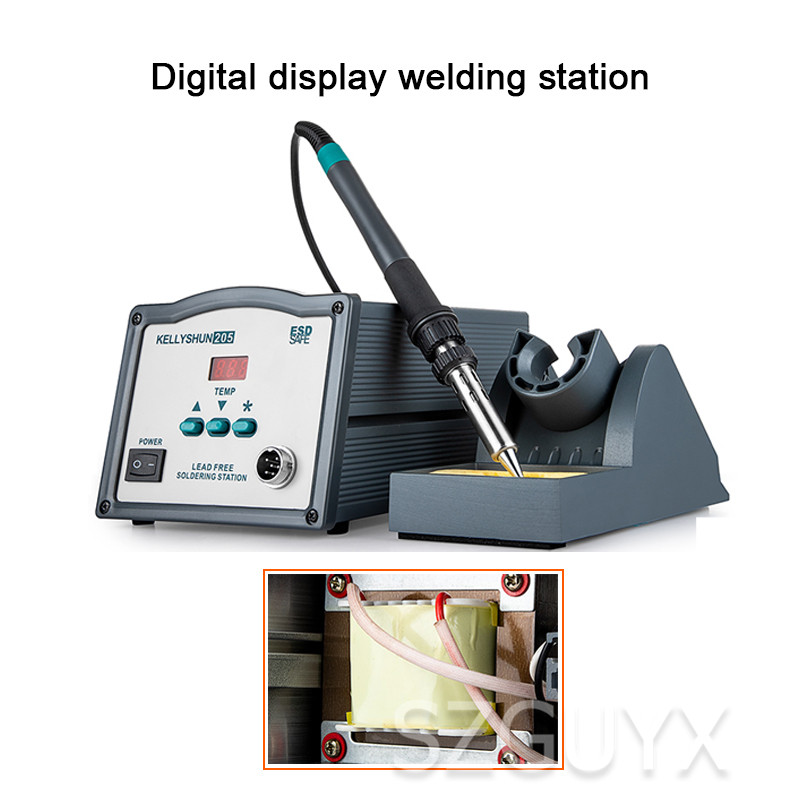 Commercial Constant Temperature High Frequency Mobile Phone Repair Digital Soldering Station Electric Soldering Iron