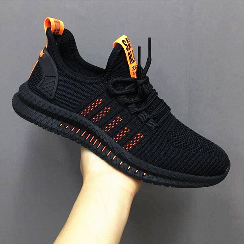 2020 New Mesh Men Sneakers Casual Shoes Lac up Men Shoes Lightweight Comfortable Breathable Walking Sneakers Innrech Market.com