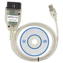 Smps Mpps k-can V13.02 Can Flasher Chip Tuning Ecu Remap Obd2 profesjonalny kabel diagnostyczny samochodu