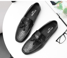 2019 Summer Casual Tassel Loafers Shoes For Men Black Brown Classic Mens Driving Shoes Breathable Casual Flat Shoes