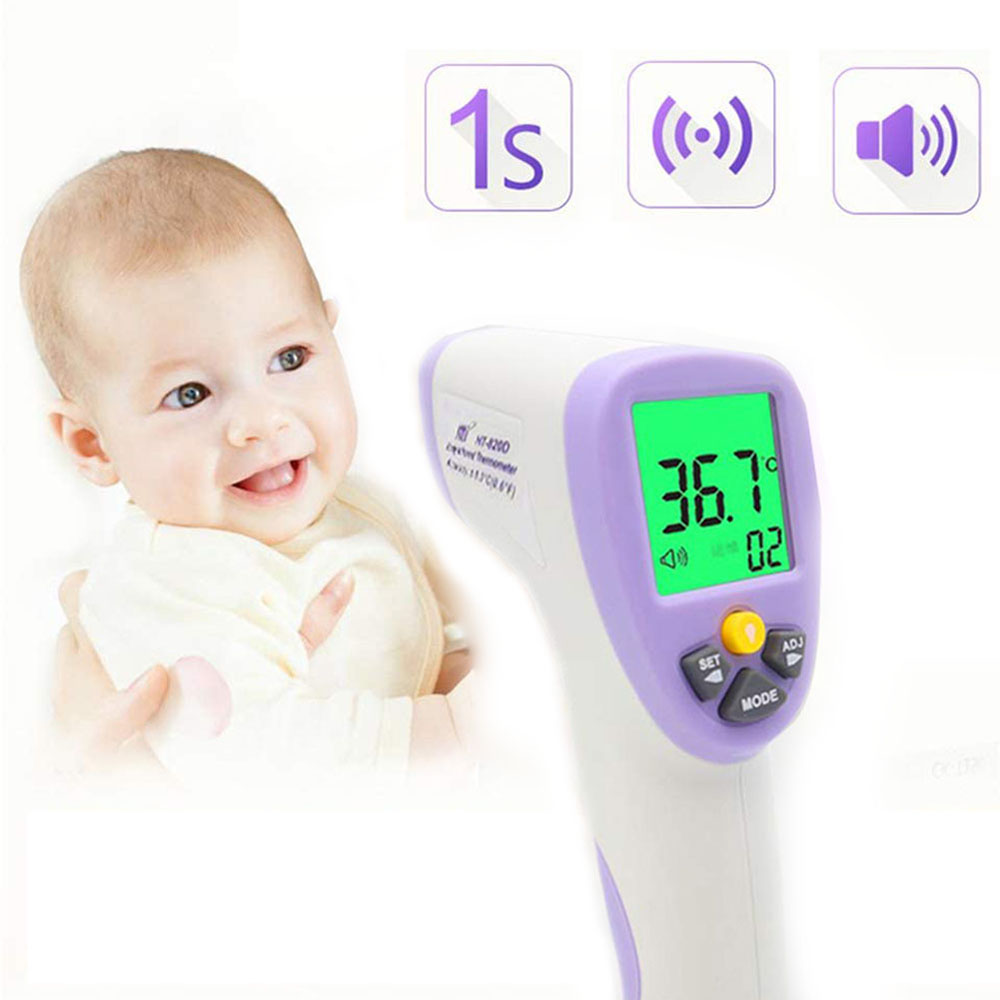 Digital Baby Thermometer Body Infrared Thermometer  For Adult  Children Forehead Thermometer  Infrared Temperature Gun