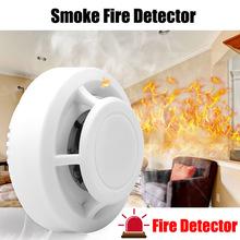High Senstive detektor ognia dymu niezależny Alarm bezpieczeństwo w domu bezprzewodowy czujnik ognia detektor dymu wskaźnik LED Alarm tanie tanio SMOKE23