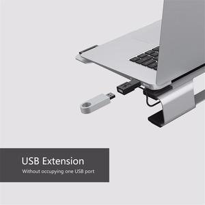 Image 3 - ORICO 15 inch Notebook Computer Radiator Bracket Plate Aluminum Laptop Stand For Apple Laptop Notebook Cooling Pad