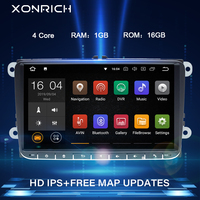 92 Din Android 10 Car radio GPS Navigation For VW Passat B6 touran volkswagen Skoda Octavia 2polo golf 5 6 Multimedia DVDPlayer