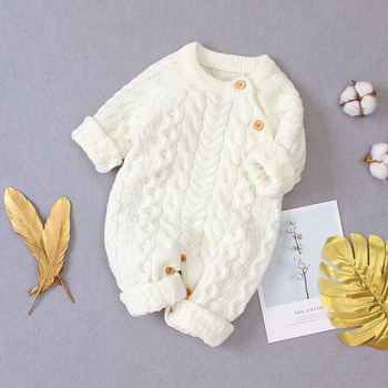 LZH 2020 Autumn Infant Hooded Knitting Jacket For Baby Clothes Newborn Coat For Baby Boys Girl Jacket Winter Kids Outerwear Coat 8