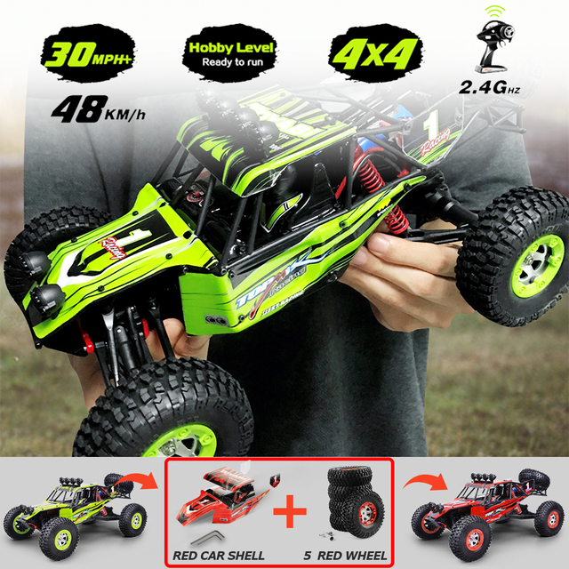 1/12 RC Cars 4WD High Speed Racing car 48km/h RTR Rc truck 2.4G Radio Control Buggy Off Road vehicle Electric Toy Gifts