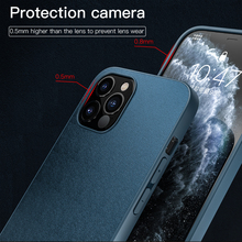 KEYSION PU Leather Case for iPhone 12 Pro Max Back Phone Cover for iPhone 12 mini 11 Pro Max X XS XR 8 7 Plus SE 2020 New i12