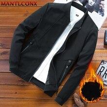 Male Jackets Coat Windbreaker Men Windproof Casual Thick MANTLCONX Parka Warm Men 7xl