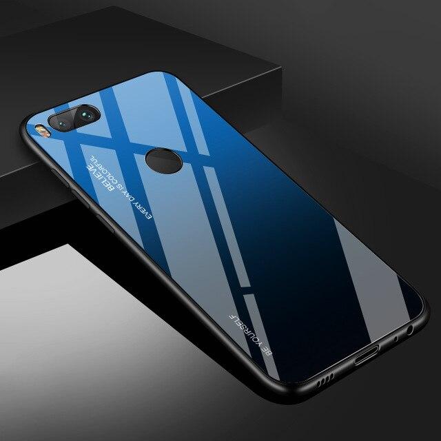 Чехол из закаленного стекла INIU для Xiaomi mi 9 SE 8 Pro A2 A1 Lite, Роскошный чехол для телефона mi x 3 2S Max 2 Note 3 Pocophone F1 - Цвет: 5