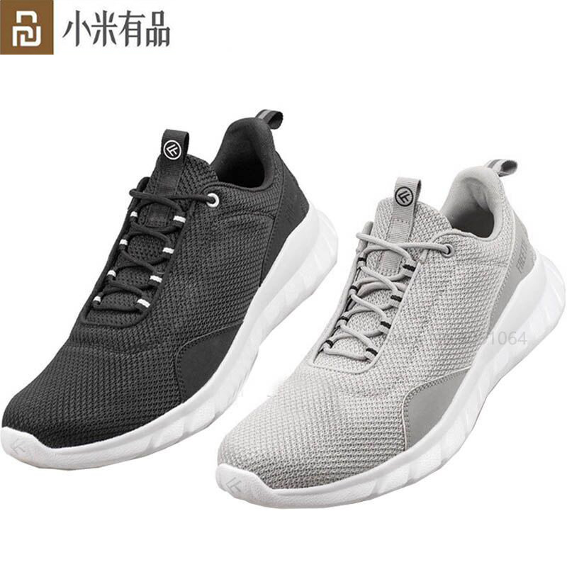 Youpin FREETIE Sport Shoes Lightweight Ventilate Elastic Knitting Shoes Breathable Refreshing City Running Sneaker Shoes For Man