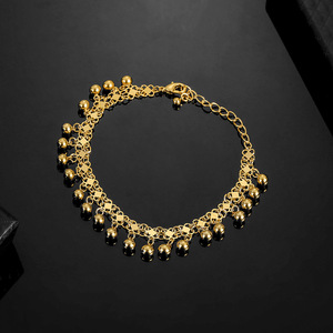 Image 5 - No Faded Allah Muslim Arabic Islam Necklace Long Gold Beaded Link Chains Turkish Middle East Bracelet Jewelery Set