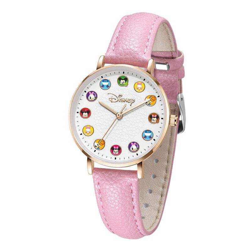 2020 Милашки Малыш% 27 Кварц Часы Девушка Молодой Дамы Кожа Наручные часы Ребенок Нержавеющая сталь Сталь Часы Водонепроницаемость Женщины Часы Ребенок Подарок