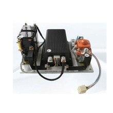 Preço de fábrica 24v 36v 48v 72v 360a dc controlador kit para série animado motor