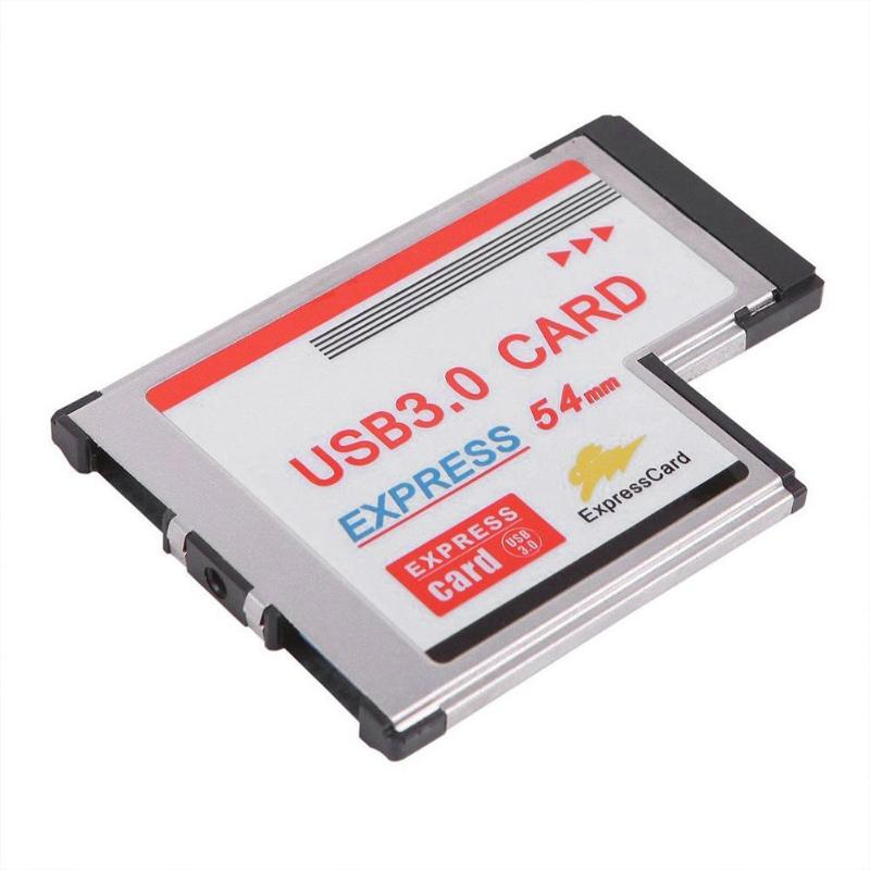 34mm express card USB 2.0 to DC 5v express card adapter for laptop computer BH