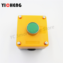 цена на Start switch button box XB2BA31C self-reset normally open button XALB01C 1 hole button box